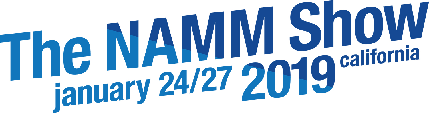 NAMM Logo 2019 with Dates