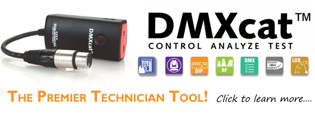 DMXcat Multifunction Tester