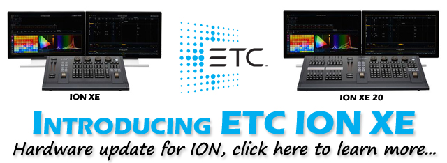 ETC ION XE Lighting Control Consoles