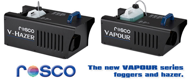 Rosco Vapour Foggers and Hazer