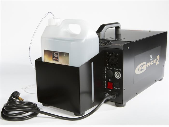 paint can smoke machine