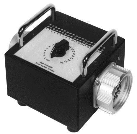 Socapex Cable Tester