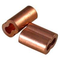"1/8"" Copper Swage Sleeves 10/Pk"