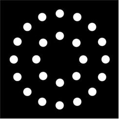 Apollo Pattern 2288 - Dots in Double Circle
